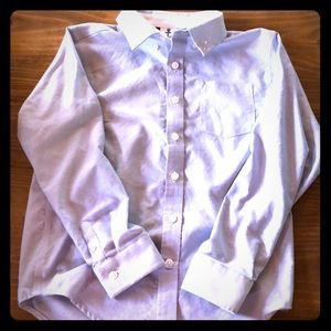 Boys button down dress shirt Gymboree